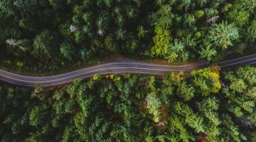 Empreinte carbone et transport routier de marchandises